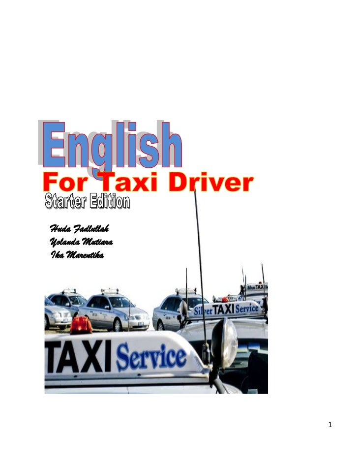 english for taxi drivers pdf