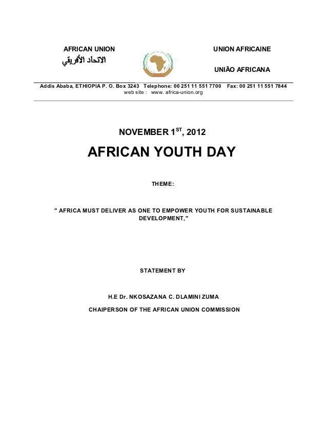English chairperson statement ayd 2012