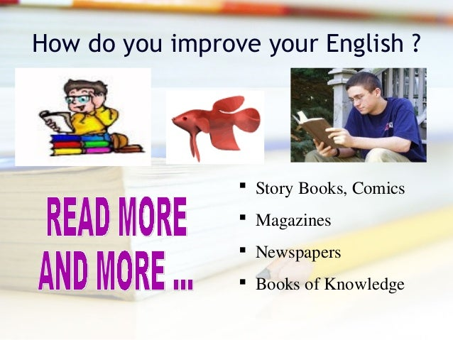 Books to read to improve English skills?