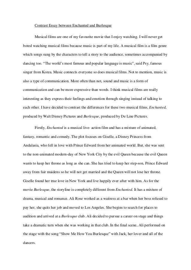 my favourite movie essay in english