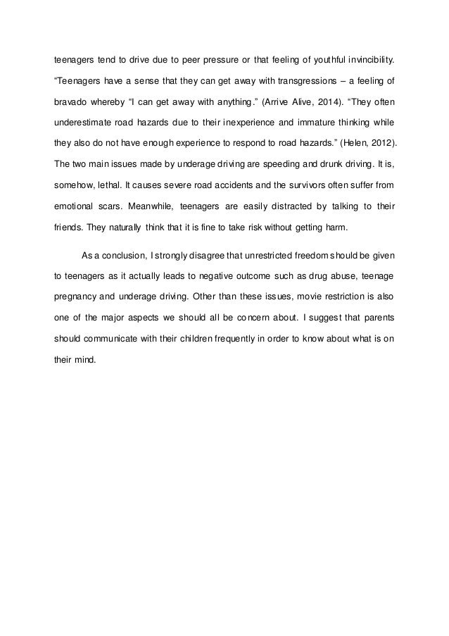 essay on speeding while driving