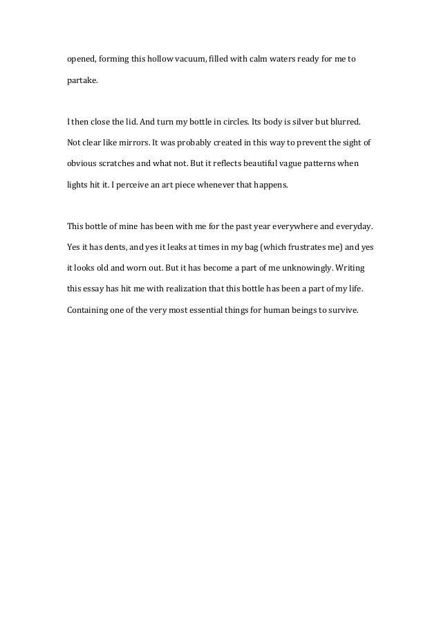 Descriptive Narration Essay?