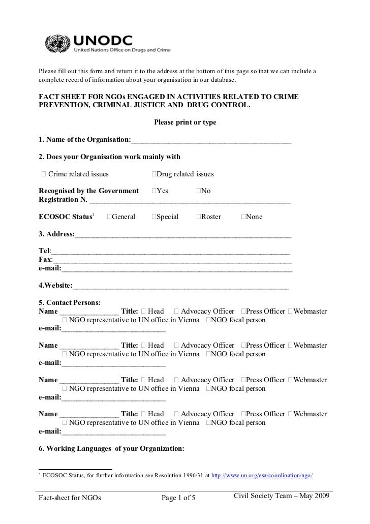 Please fill out this form and return it to the address at the bottom of this page so that we can include acomplete record ...