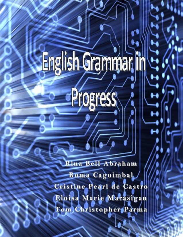 English grammar in progress
