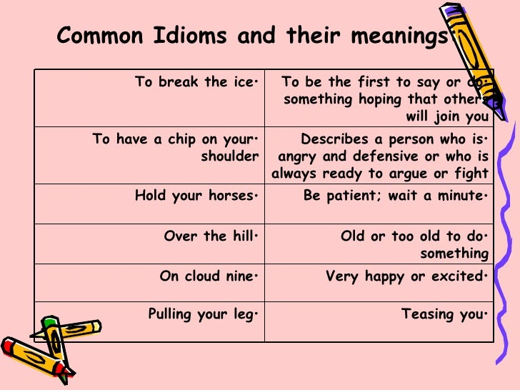 Dictionary of English Idioms & Phrases
