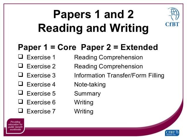 Exercise Essay Writing