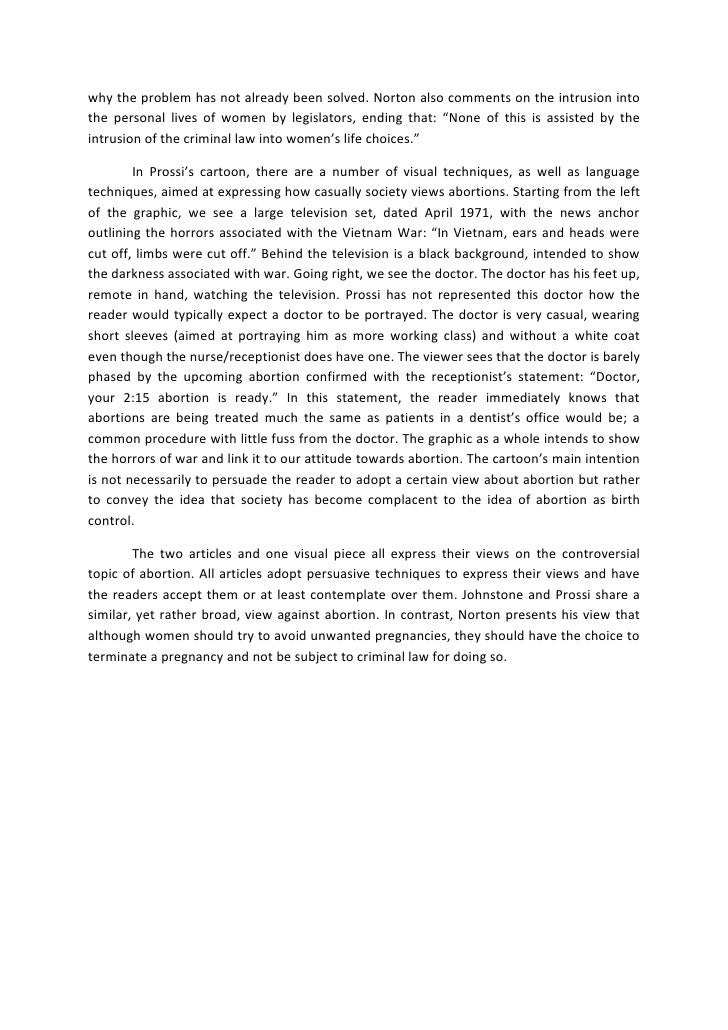 What is a personal analytical essay
