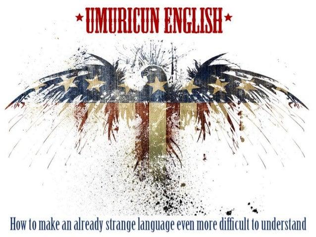 English language at games