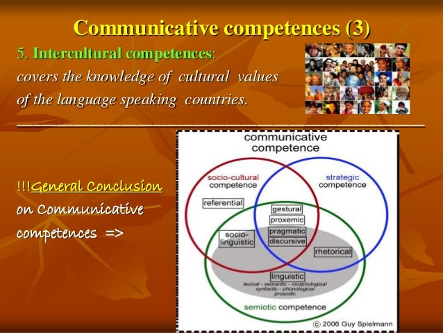 What to put in a communicative competence essay?