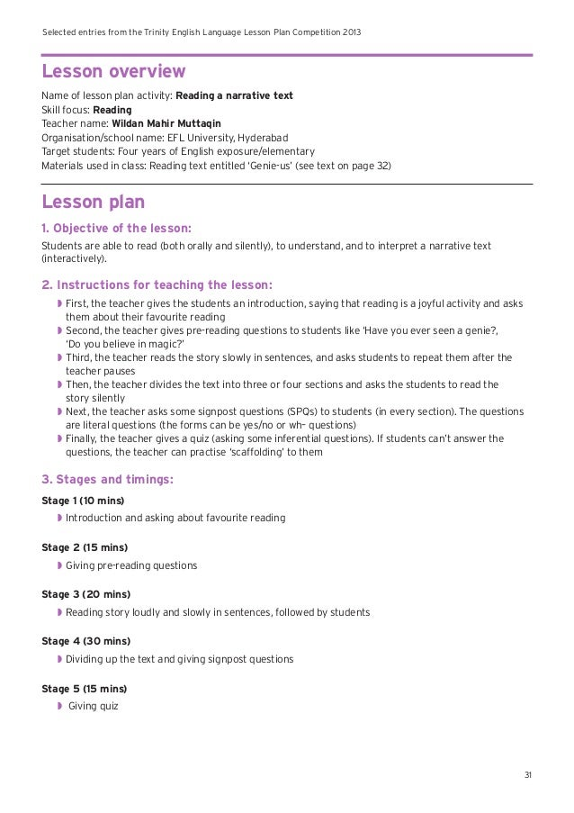 esl lesson plan writing an essay Discover an essay writing lesson that works great for english language learners the writing recipe: essay structure for ells lesson planpdf.