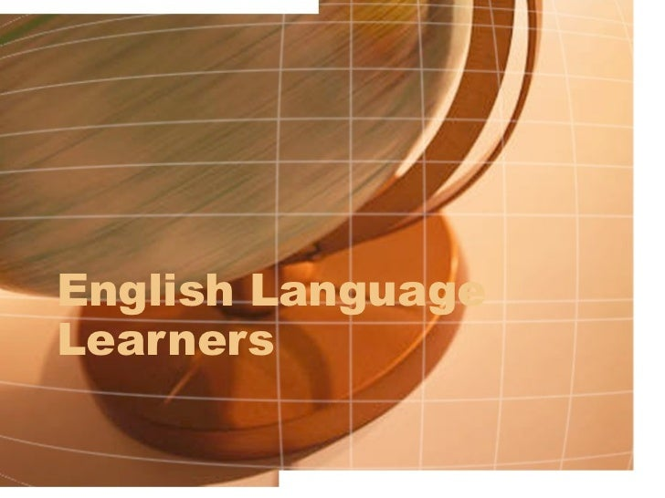 English language learners   intro power point