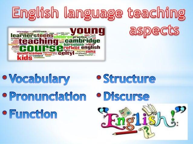 English language teaching aspects