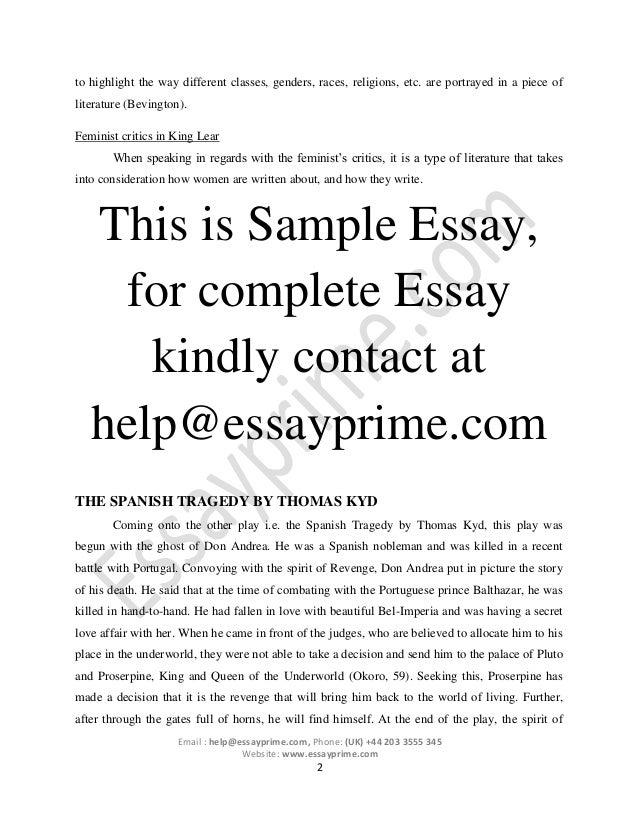 Examples Of Feminist Criticism Essays