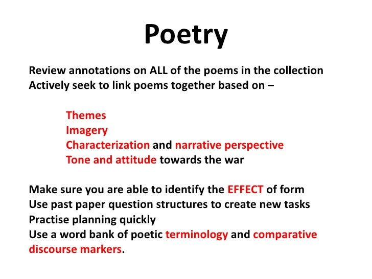 poem exam Which type of poetry is four lined, rhymes, and have several possible rhyme schemes.