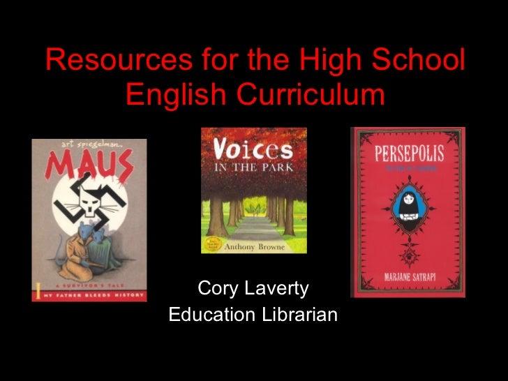 English Literature Resources