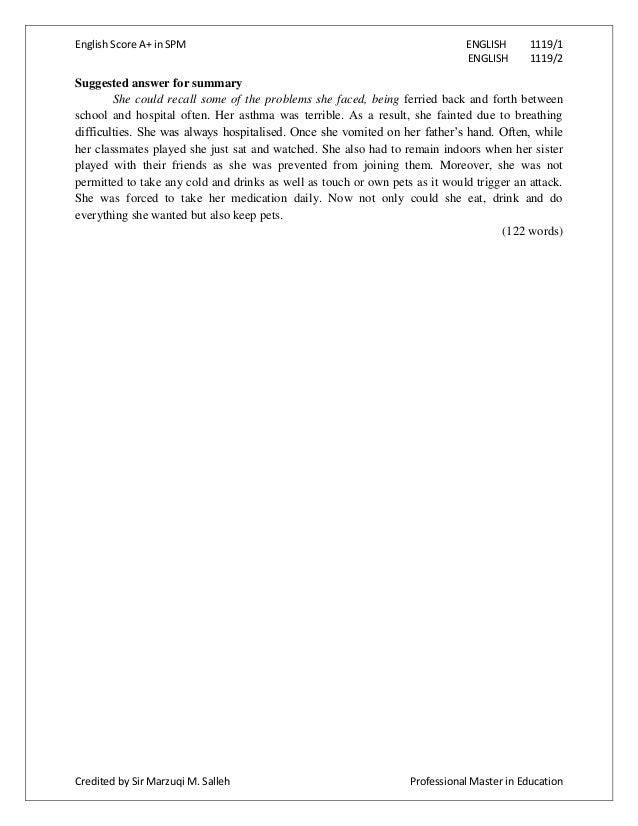 one word essay