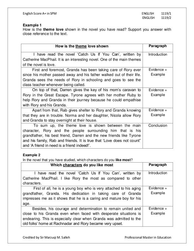 essay for english spm continuous writing