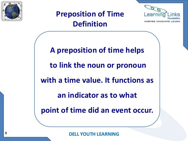 Image Result For Preposition Definitiona