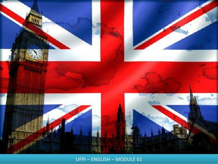UFPI – ENGLISH – MODULE 01