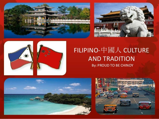 Differentiating Filipinos and Chinese.