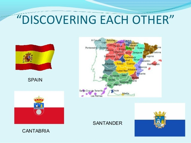 """DISCOVERING EACH OTHER""SPAINCANTABRIASANTANDER"