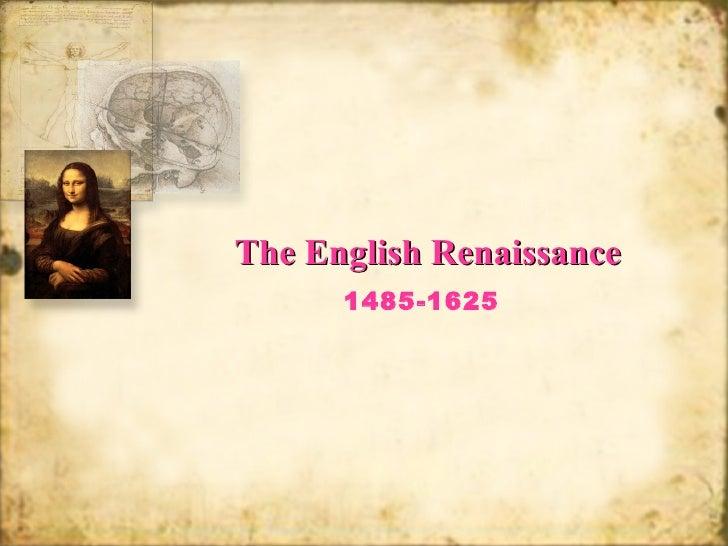 English Renaissance