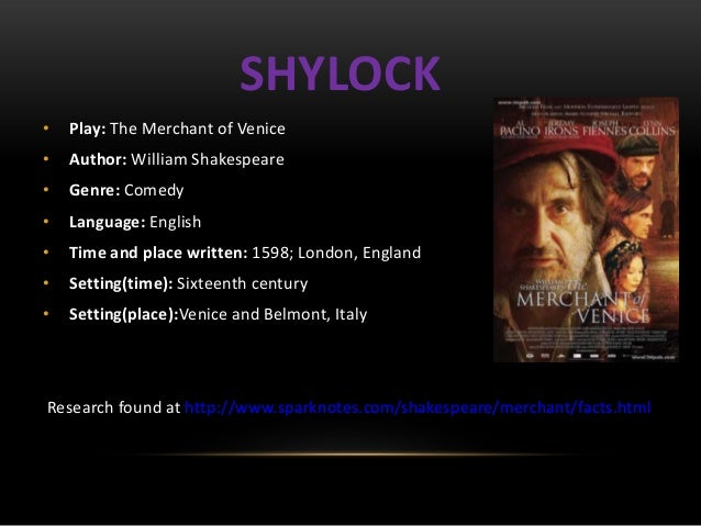 Shakespeare shylock