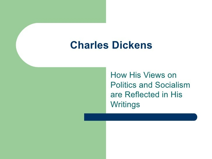 Charles Dickens How His V