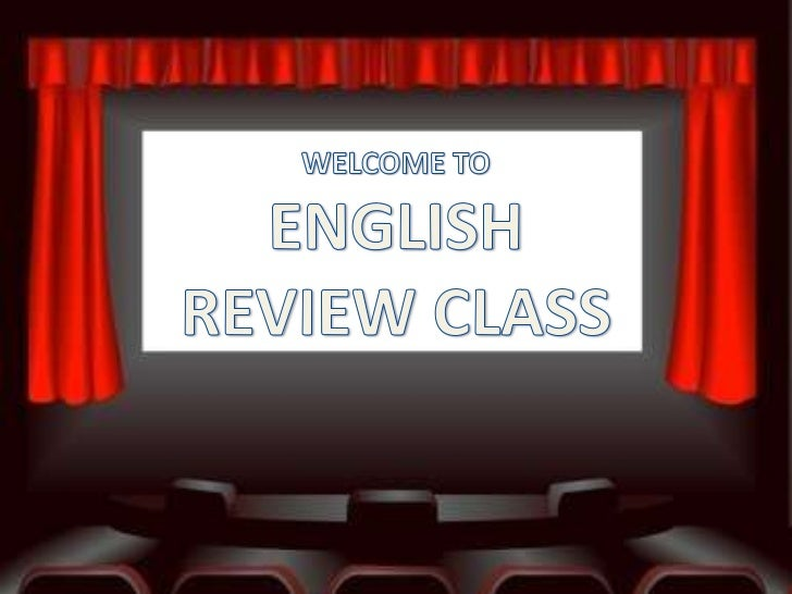 English reviewer