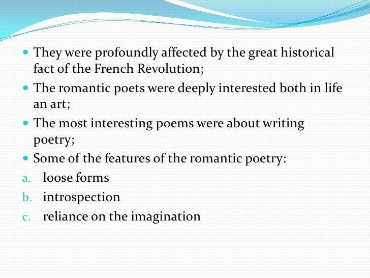 romantic imagination essay Essay writing guide learn  ramsey the romantic hero in goethe's  the contrast he makes between the rational world and the world of imagination (line 660) is a.