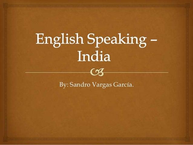 English speaking -_bueno