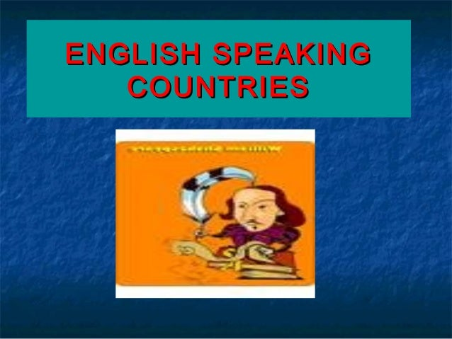 English speaking countries powerpoint