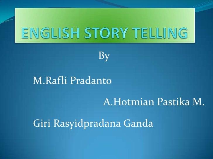 English story telling