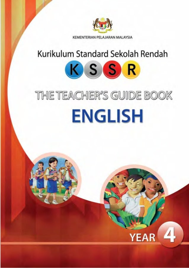 English teachers guide book year 4