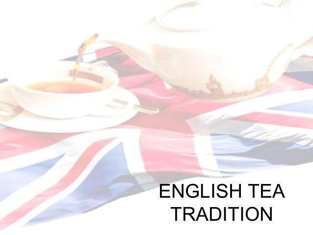 English tea tradition