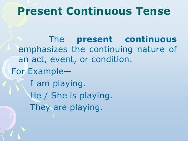 Lesson Plan Training (Present Continuous Tense)