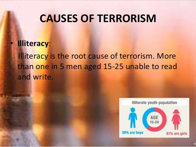 essay on war and terrorism cannot be a solution Essay on terrorism in pakistan: its causes war on terrorism: terrorism in pakistan: its causes, impacts and remedies.