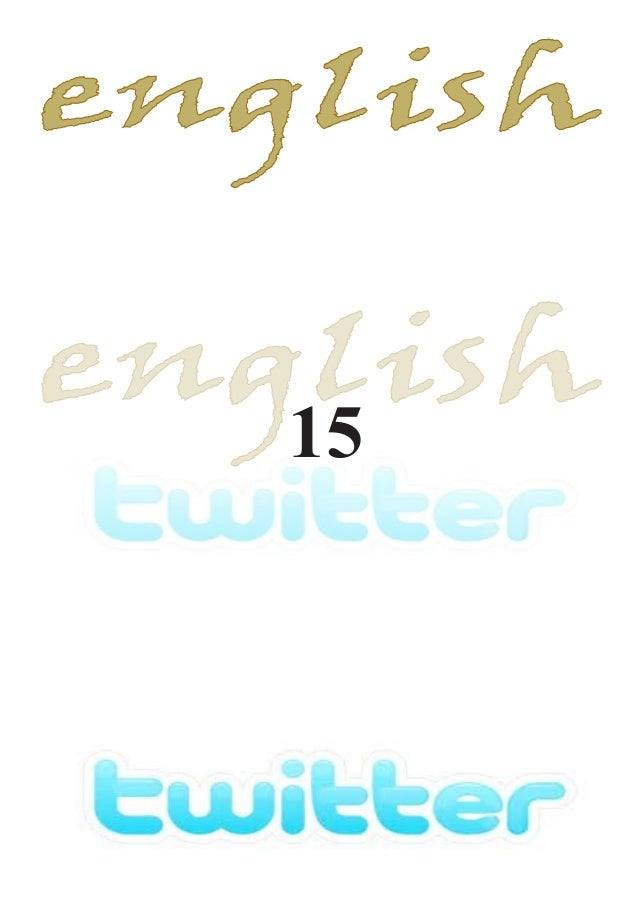 English twitter 15