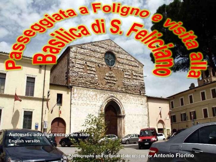 English version of foligno e la basilica