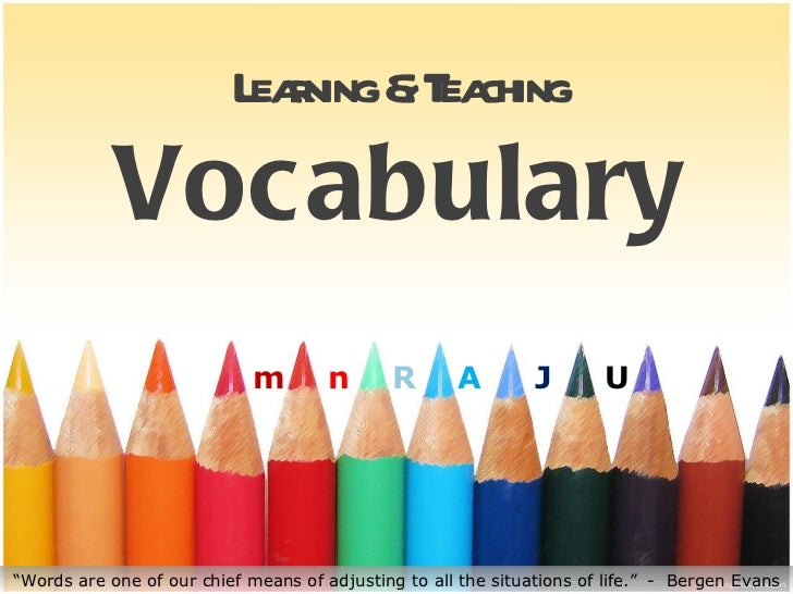 L r &T ching                           eaning ea            Vocabulary                             m        n      R      ...