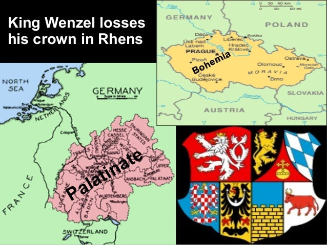 King Wenzel losseshis crown in Rhens                                          a                                     mi    ...
