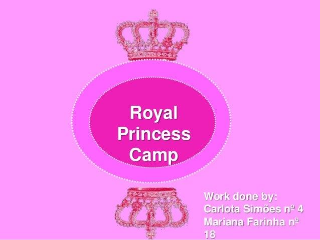 English work  camp