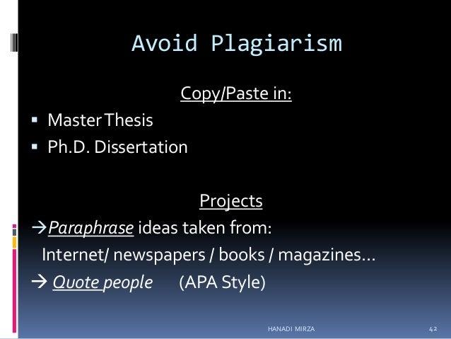 Phd ma thesis on english language