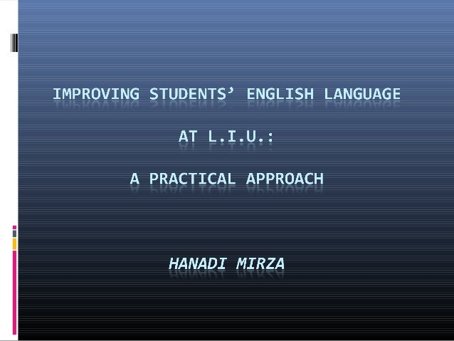 English Language Workskhop- English Instructors
