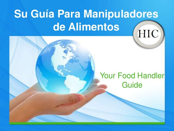 Spanish Food Handler Guide