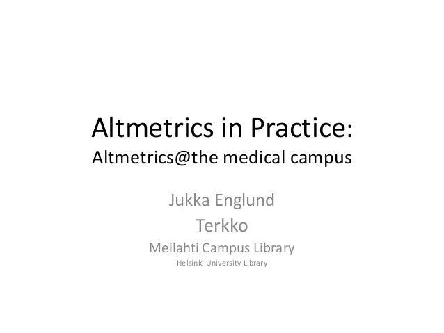 Terkko altmetrics process