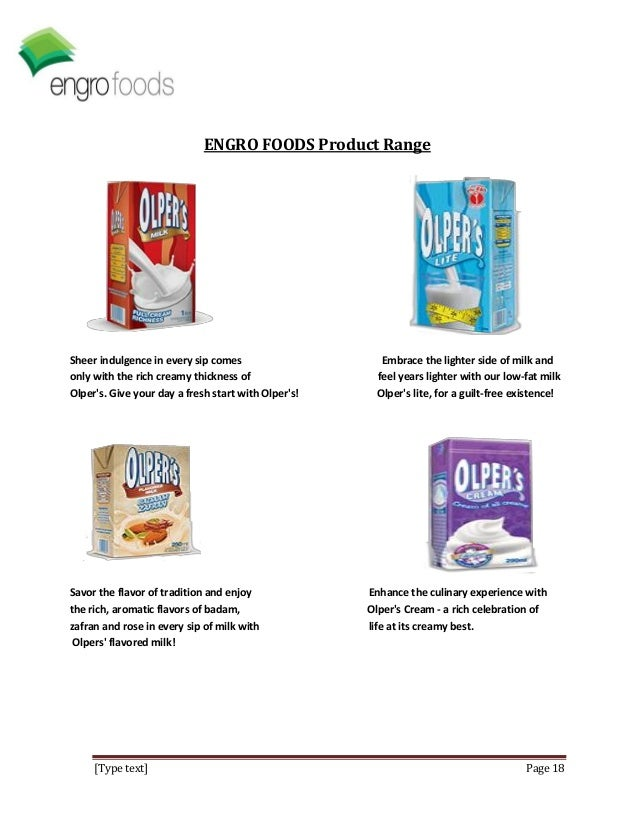 market analysis of olpers milk pak These are the only milk brands safe for consumption in pakistan  to conduct an analysis of all packaged milk available in punjab  job pulling these milk brands out of the market until they .