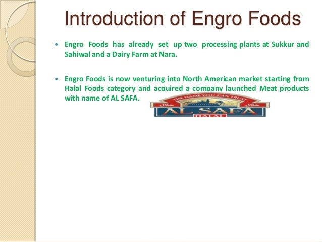 engro foods main project report Engro foods current production capacity is as under: production capacities sukker plant sahiwal plant 07 source: company prospectus dairy plants ice‐cream plant (uht processing (mn litres per plants) annum) (mn litres per day) 04 0 22 disclaimer: this report has been prepared by standard capital securities (pvt) ltd and is provided for.