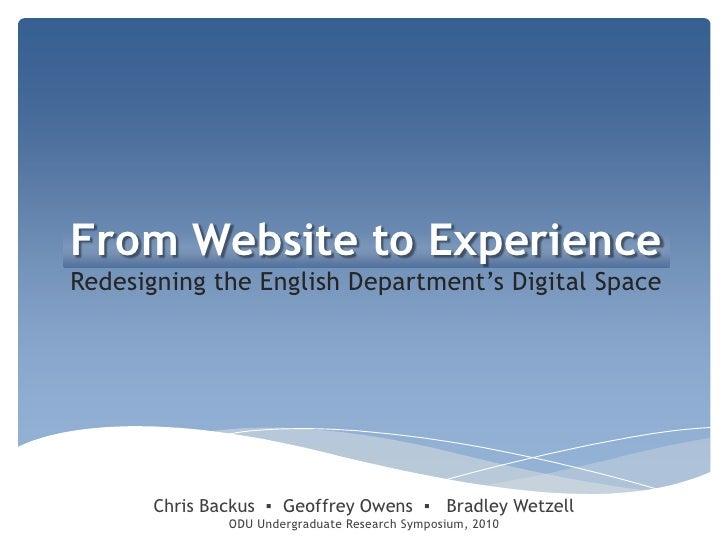 Eng Site Presentation