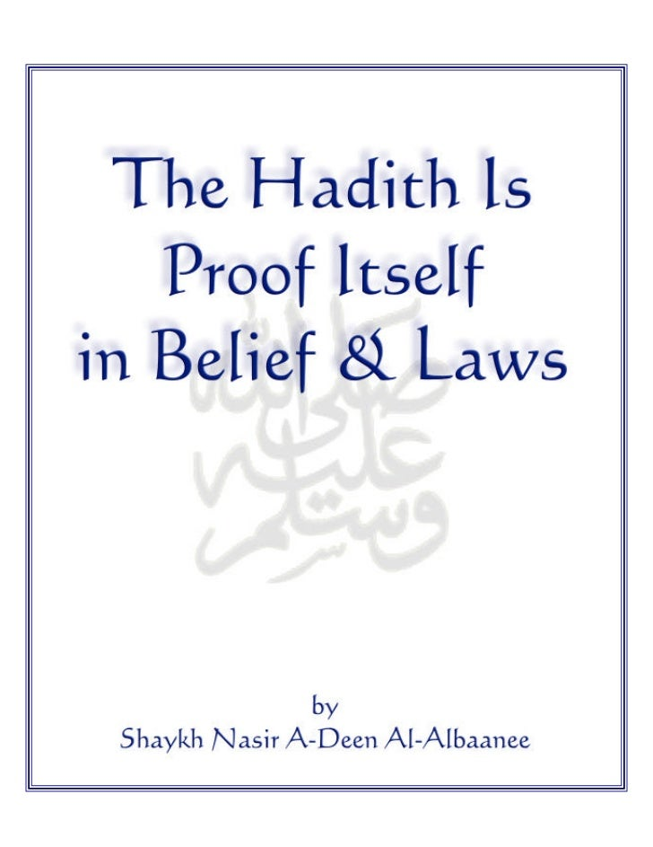 Chapter 1      The Necessity of          Adhering     to the Sunnah and         Forbidding          Defying itinfo@calgary...